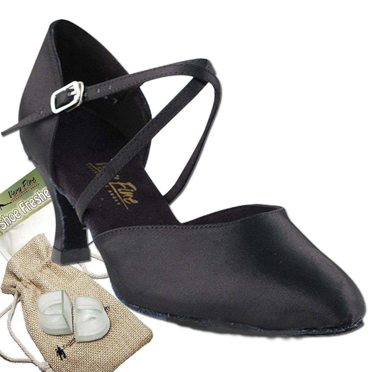 レディース社交ダンスシューズウェディングサルサタンゴ靴9691eb comfortable-very Fine 2.5