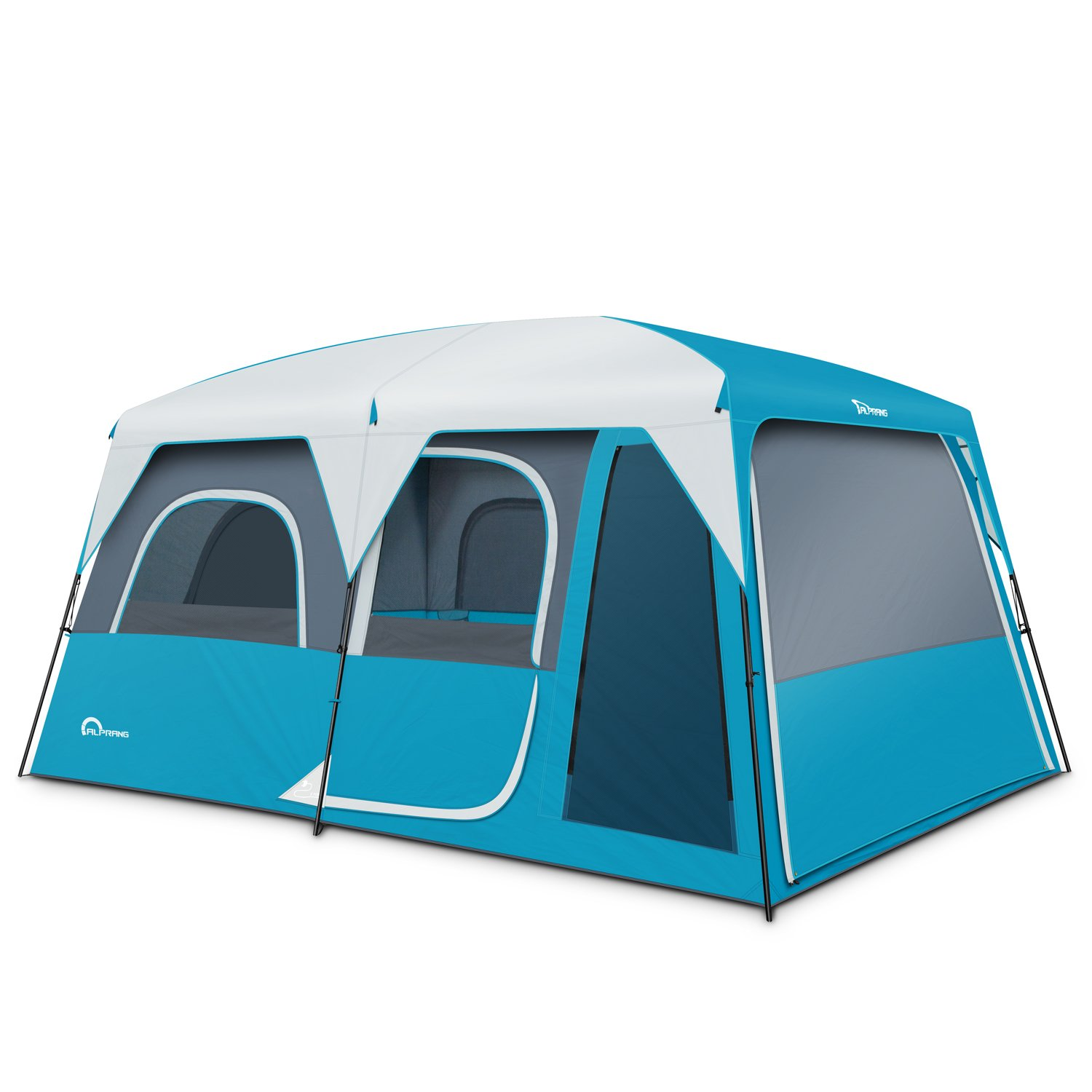 Alprang Family Camping Tent - Easy to Setup, Spacious, and Durable - 9 Person Cabin Tent-Lets You Have Fun with All Your Special Ones by Alprang (Image #1)