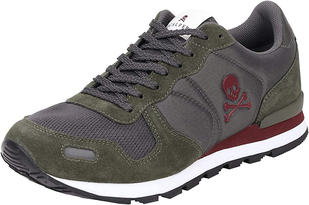 Sneakers Serraje Folk - Green / 42: Amazon.es: Zapatos y complementos