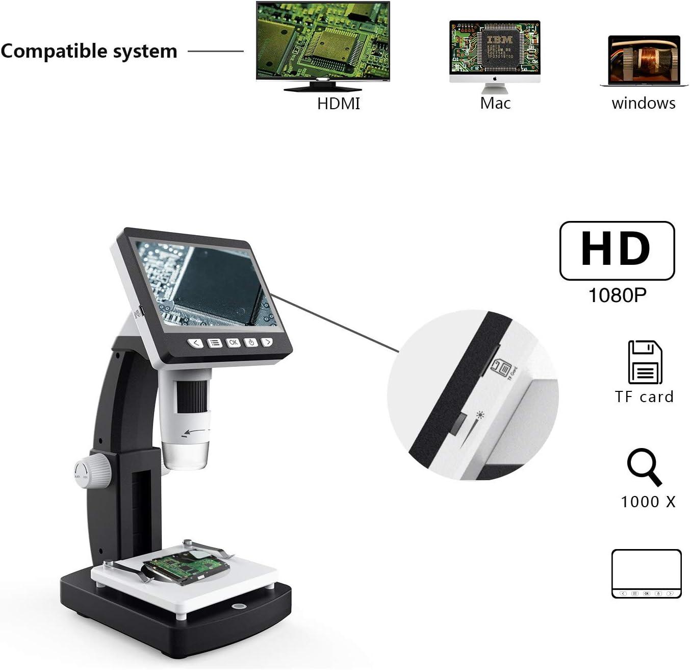 ZZWBOX 5 Millones de microscopios electrónicos Digitales de ...