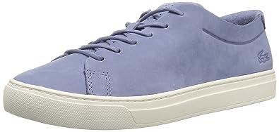 cca95a29d6c9a Lacoste Women s L.12.12 Unlined 1183 CAW Sneaker Light purp Off White 5 M