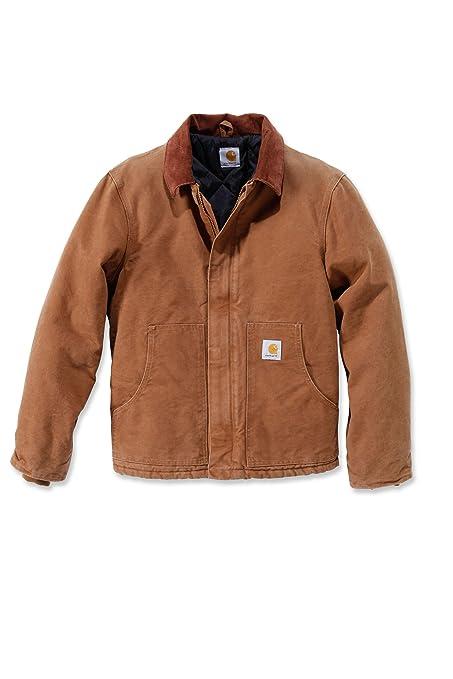 oficjalne zdjęcia kupuj bestsellery delikatne kolory Carhartt Jacket Duck Sandstone Traditional EJ022