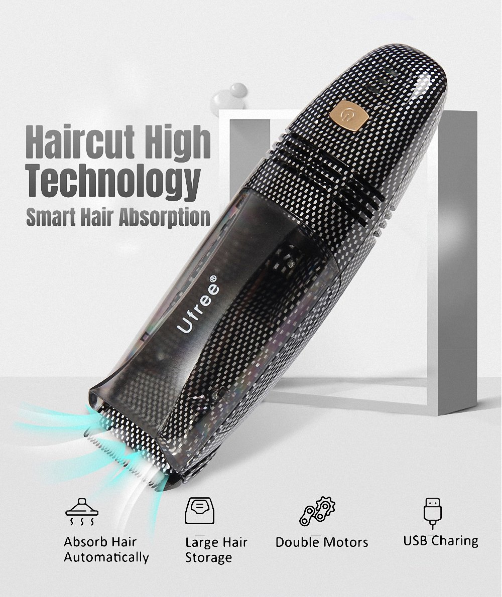 Cordless Vacuum Haircut Kit, Vacuum Trimmer, Hair Clippers, Hair Trimmer, Clippers,Complete Hair Cutting Kit 445566
