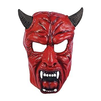 Bristol BM 398 - diablo cara máscara con cuernos de diablo diablo máscara de la máscara