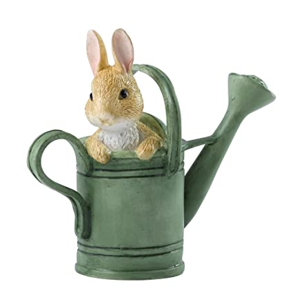 Beatrix Potter Peter en regadera Mini Figura Decorativa ...