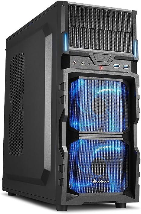 Sharkoon VG5-V - Caja de Ordenador Gaming (semitorre ATX ...