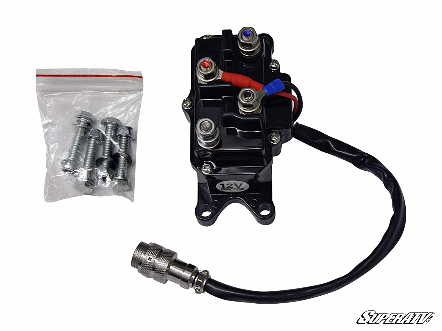 5000 lb.Winch Parts Replacement Solenoid By SuperATV WC-SOL