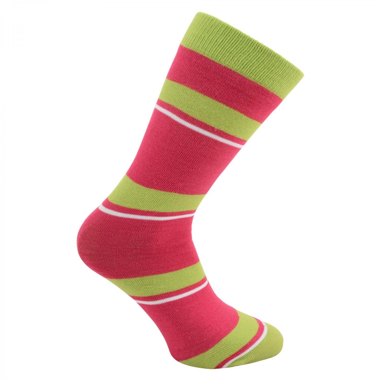 Dare2b Girls Kids Footloose II Patterned Acrylic Ski Socks Pink