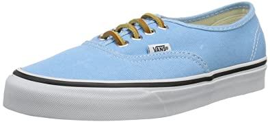 c80478f5336 Vans Unisex - Adult U AUTHENTIC (BRUSHED TWILL) Low Light Blue Hellblau ((
