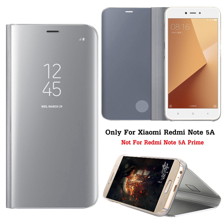 Guran® Mirror Efecto Espejo Funda para Xiaomi Redmi Note 5A Clear ...