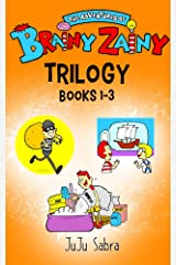 The Hilarious Adventures of Brainy Zainy Trilogy: Book 1: In A Mash! Book 2: In A Bottle! Book 3: In A Dough! [Book Series for Kids Ages 4 - 8] Kindle Edition