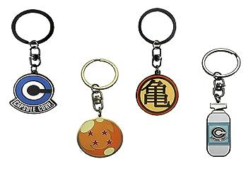 ABYstyle - Dragon Ball - Juego de 4 Llaveros con símbolo de ...