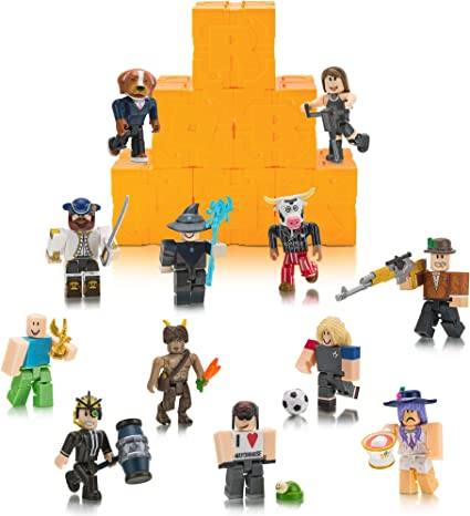 Amazoncom Roblox Toy Figures Playsets Toys Games Amazon Com Roblox Action Collection Series 5 Mystery Figure 6 Pack Includes 6 Exclusive Virtual Items Toys Games