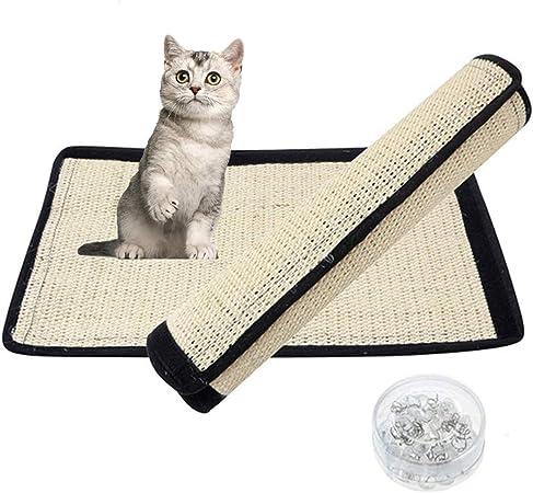 Ideal Swan Rascador para Gatos Rascador Gato Alfombrilla de Sisal ...