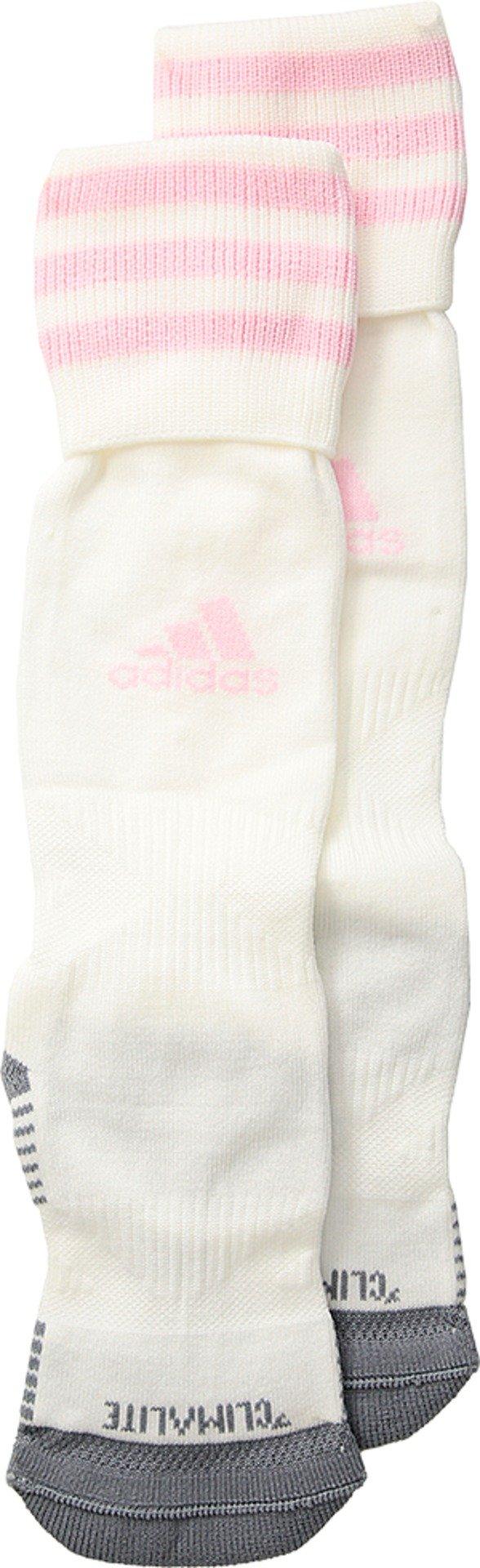 adidas Kids Unisex Copa Zone Cushion III OTC Sock (Toddler/Little Kids/Big Kids) White/Diva X-Small