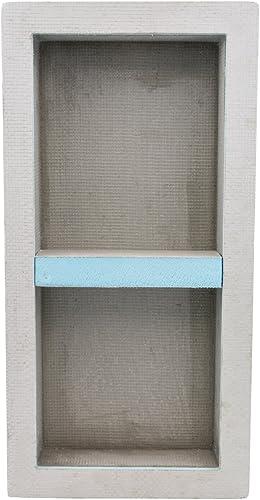 Houseables Shower Niche, Insert Storage Shelf, 12×28 Inch, Installation Size 13 x29 , Leak-Proof, Waterproof, Recessed Preformed Niches, Tileable Prefab Shelves for Bathroom, Prefabricated Organizer