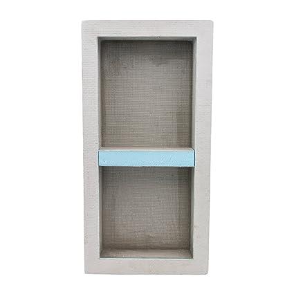 Houseables Shower Niche, Insert Storage Shelf, 12 X 28 Inch, Leak Proof