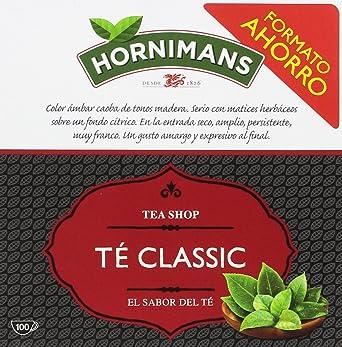 Hornimans - Bolsitas De Té Tea Shop, 100 x 1,75 g - [Pack de 3 ...