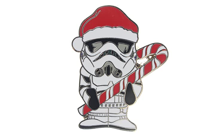 3f7ff3c9f4257 Image Unavailable. Image not available for. Color  Disney Star Wars  Stormtrooper with Candy Cane Pin