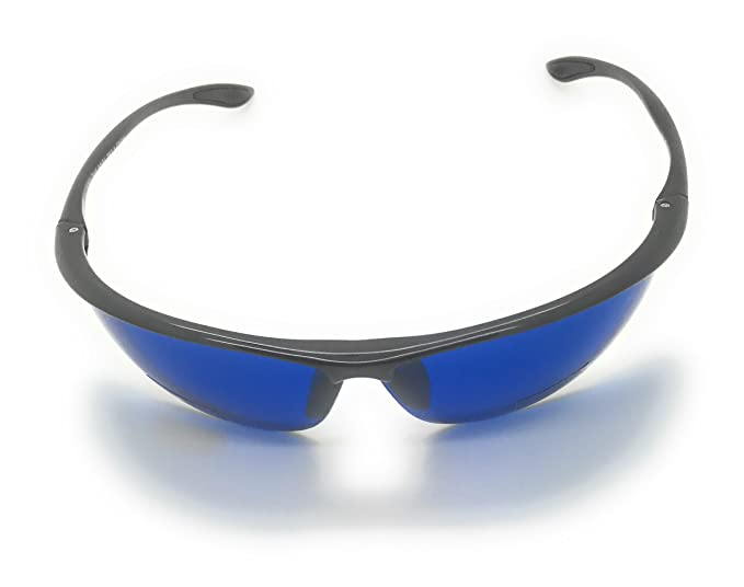 82249a470cc8 Golf Ball Finder Locating Glasses Sports Style Blue Lens Sunglasses%100 UV  production (63mm