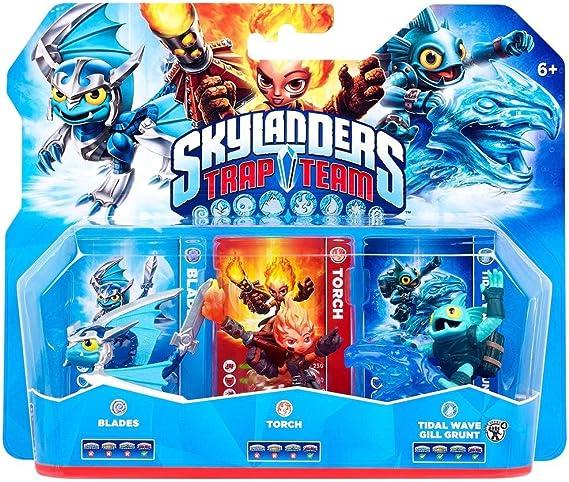 Skylanders: Trap Team - Triple Pack 2 (Blades, Tidal Wave Gill ...