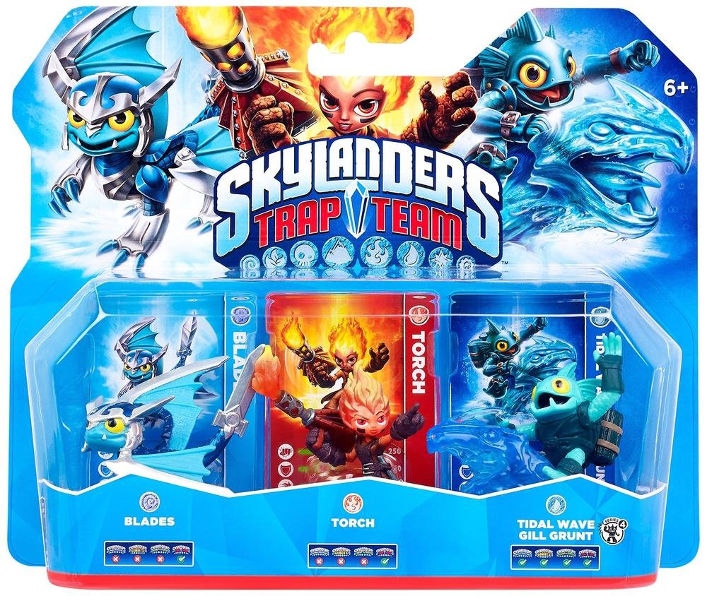Skylanders Trap Team Characters, Figures, Pictures