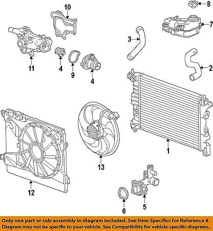amazon com general motors 55562045, engine coolant outlet gasketCoolant Gasket Diagram #12