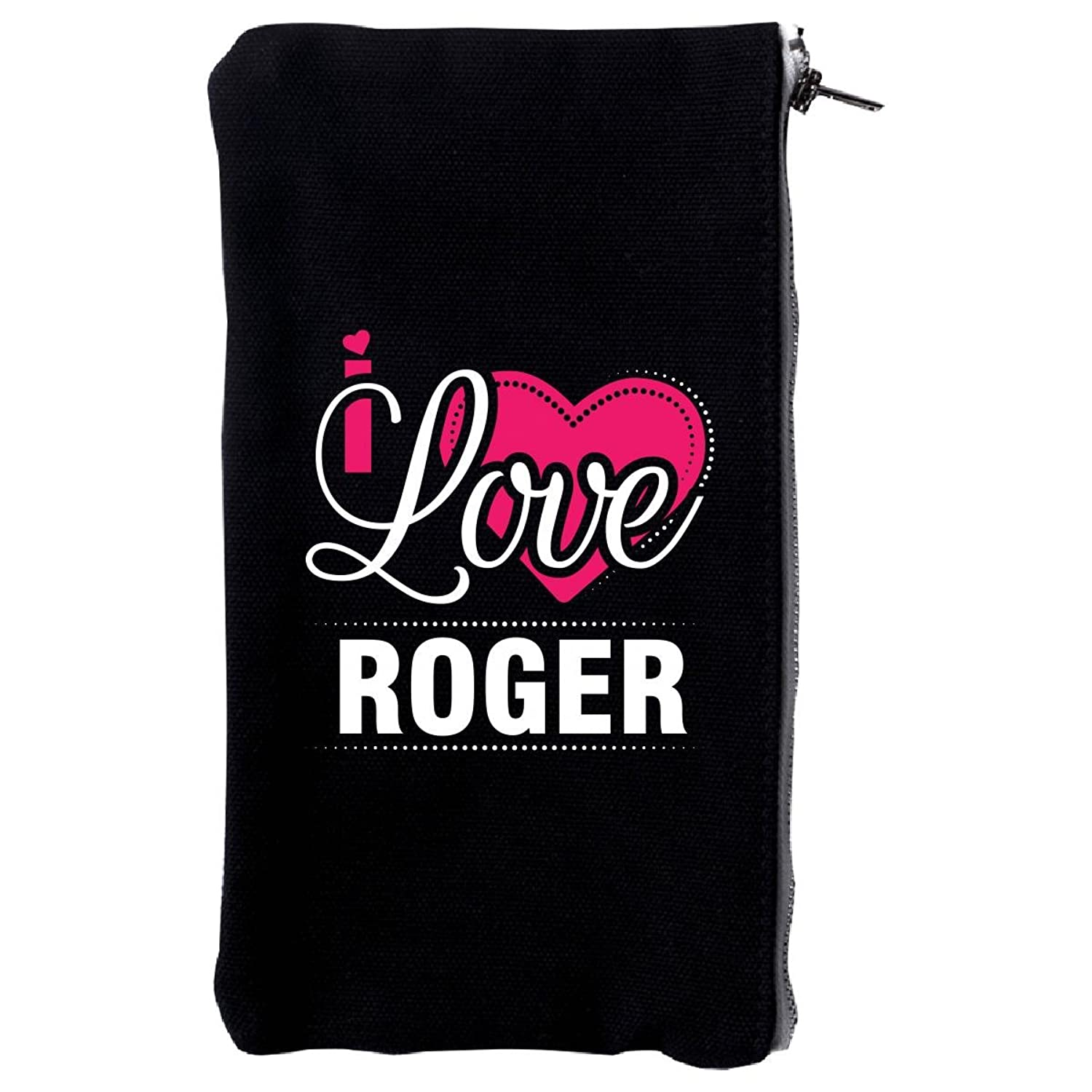 I Love Roger - Cool Gift For Roger From Girlfriend - Make Up Case