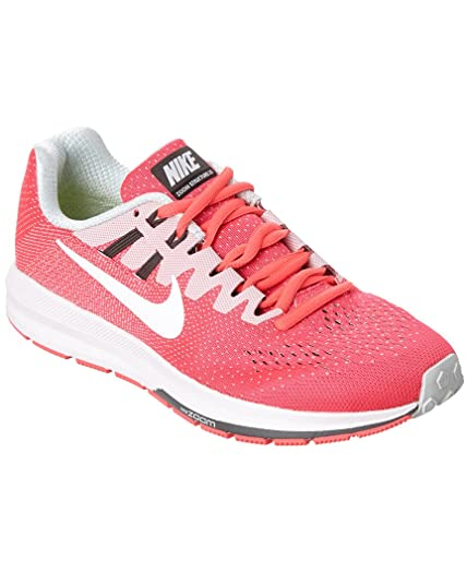 buy online ae3fe bde1f Nike Women s Air Zoom Structure 20 Running Shoe, 10, Pink  Amazon.in  Shoes    Handbags