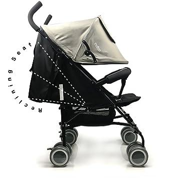 amazon com evezo travis reclining lightweight stroller with 5