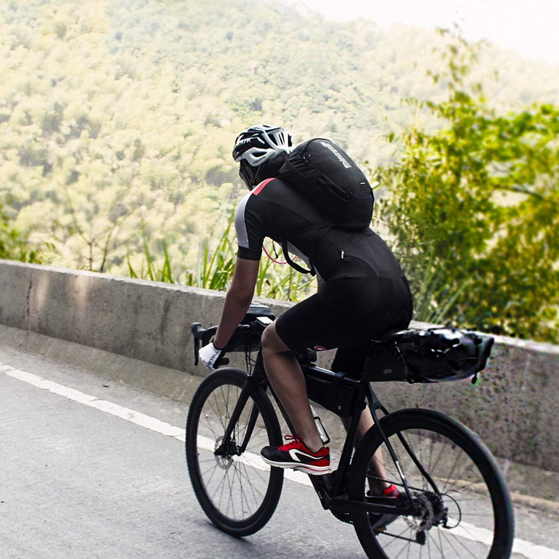 Viaje Mochila Trekking Senderismo Excursionismo Alpinismo Escalada Camping Asvert Mochila Bici Unisex Mochila Hidrataci/ón Ciclismo MTB 12L Deporte al Aire Libre