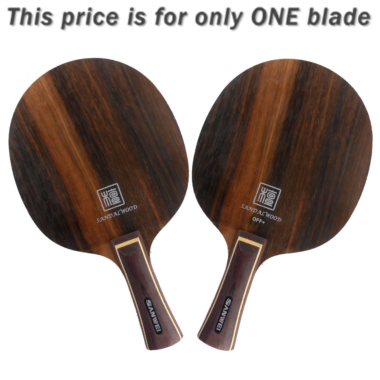 Sanweiエボニー5つh5 FL Table Tennisブレード B00ORIHNII