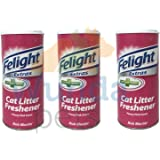 BOB MARTIN FELIGHT ANTI BACTERIAL CAT KITTEN LITTER TRAY FRESHENER 3X 300ML PACK