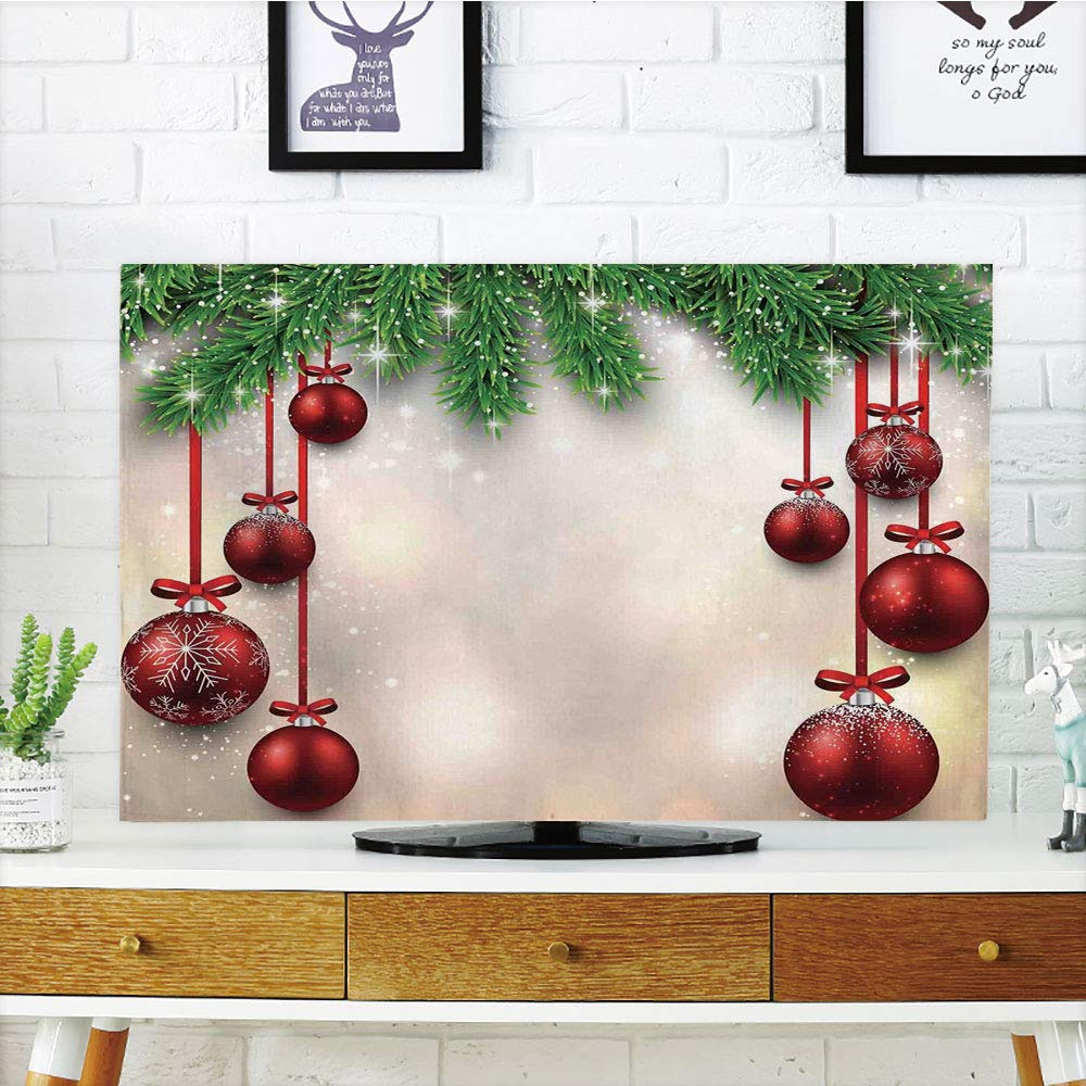 Amazon.com LCD TV dust Cover Customizable,Christmas