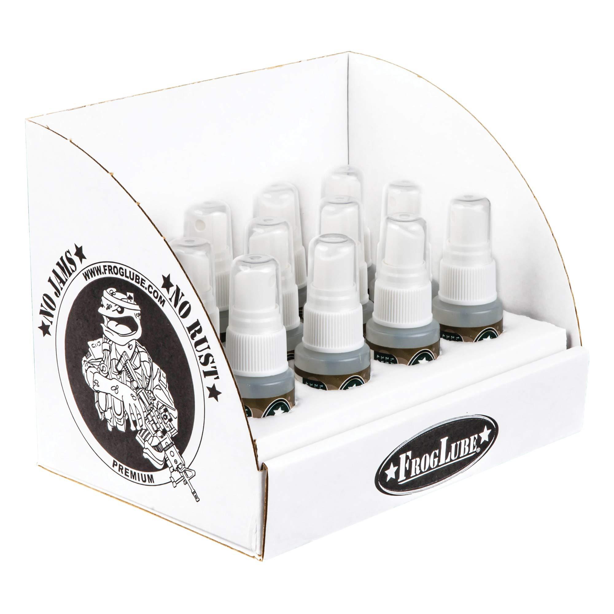 Frog Lube 14966 Solvent Spray 1oz 12 Pack of Bottles