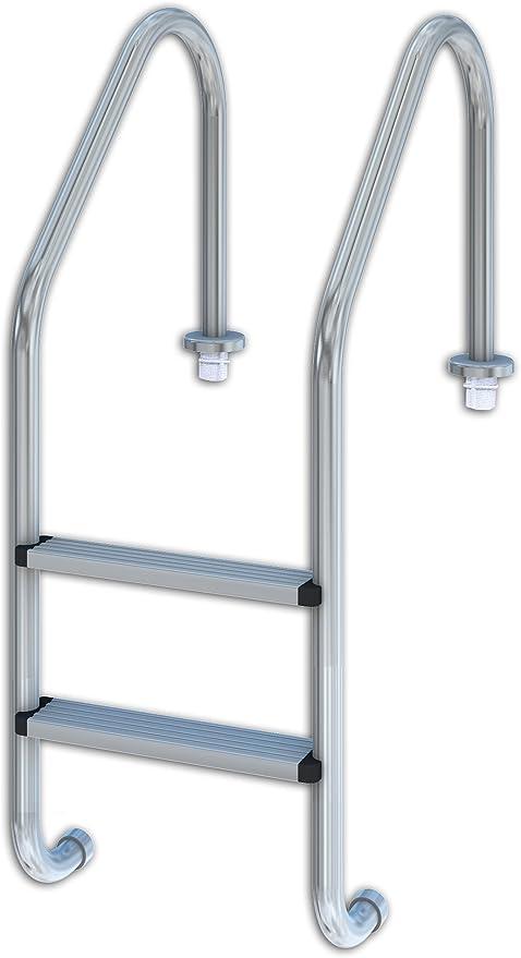 Productos QP 509080 - Escalera estándar, 2 peldaños: Amazon.es: Jardín
