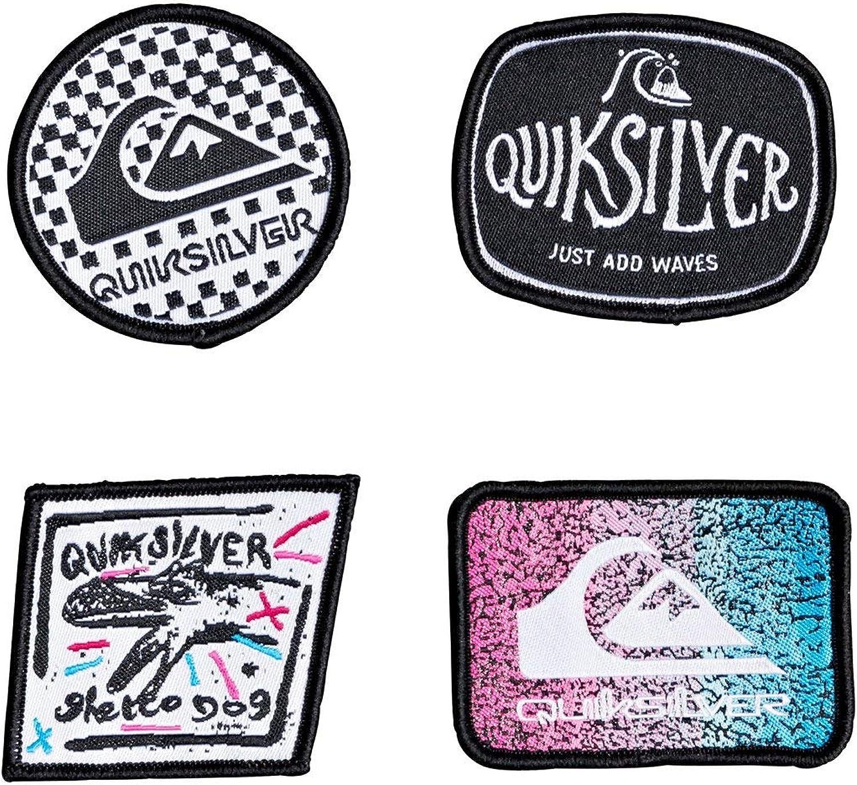 Quiksilver - Parches bordados - Hombre - ONE SIZE - Negro ...