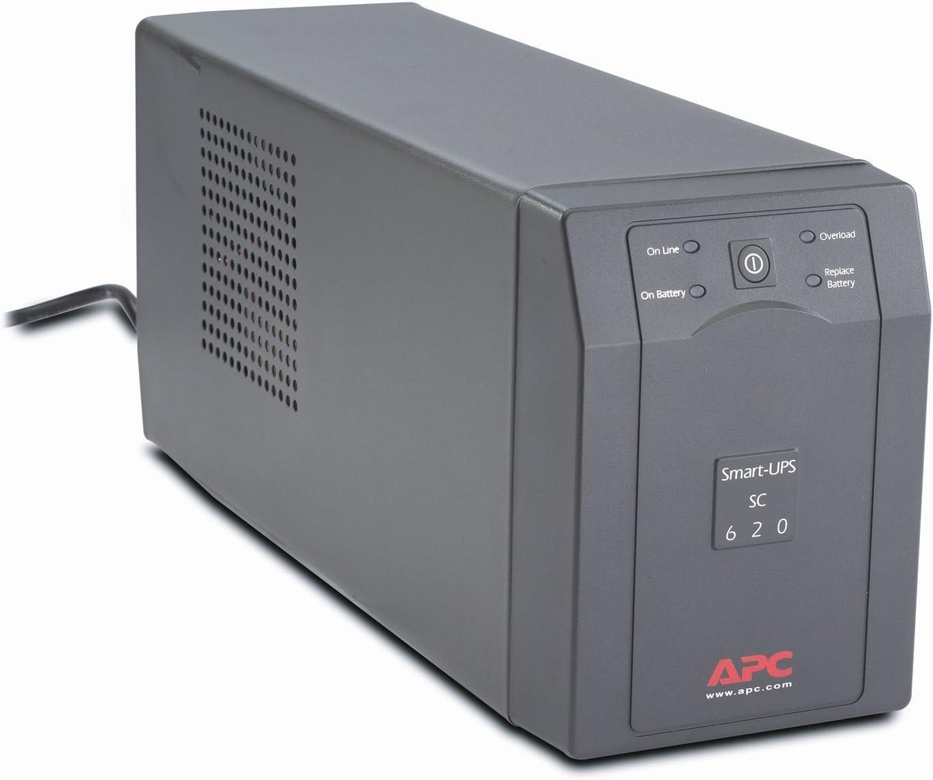 APC Smart-UPS SC620 4-Outlet 620VA 390W UPS System