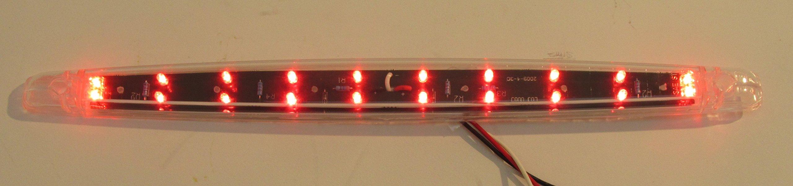 Kaper II L03-0065RI Red LED Stop/Turn/Tail Light by Kaper II