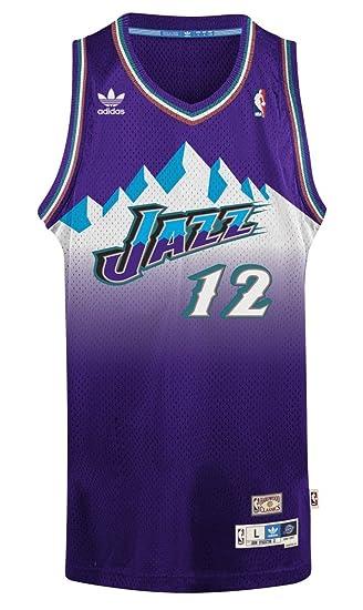 00ba0204fb0 ... sale john stockton utah jazz adidas nba throwback swingman mountains  jersey purple amazon clothing cb2b8 c339a