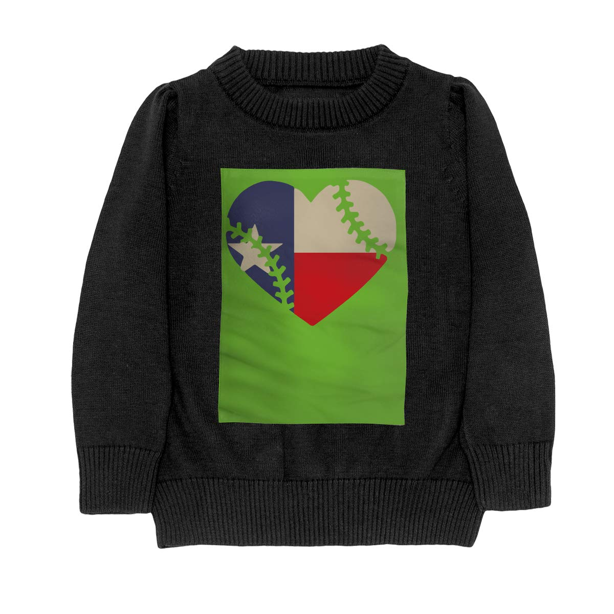 Texas State Flag Baseball Lace Casual Adolescent Boys /& Girls Unisex Sweater Keep Warm
