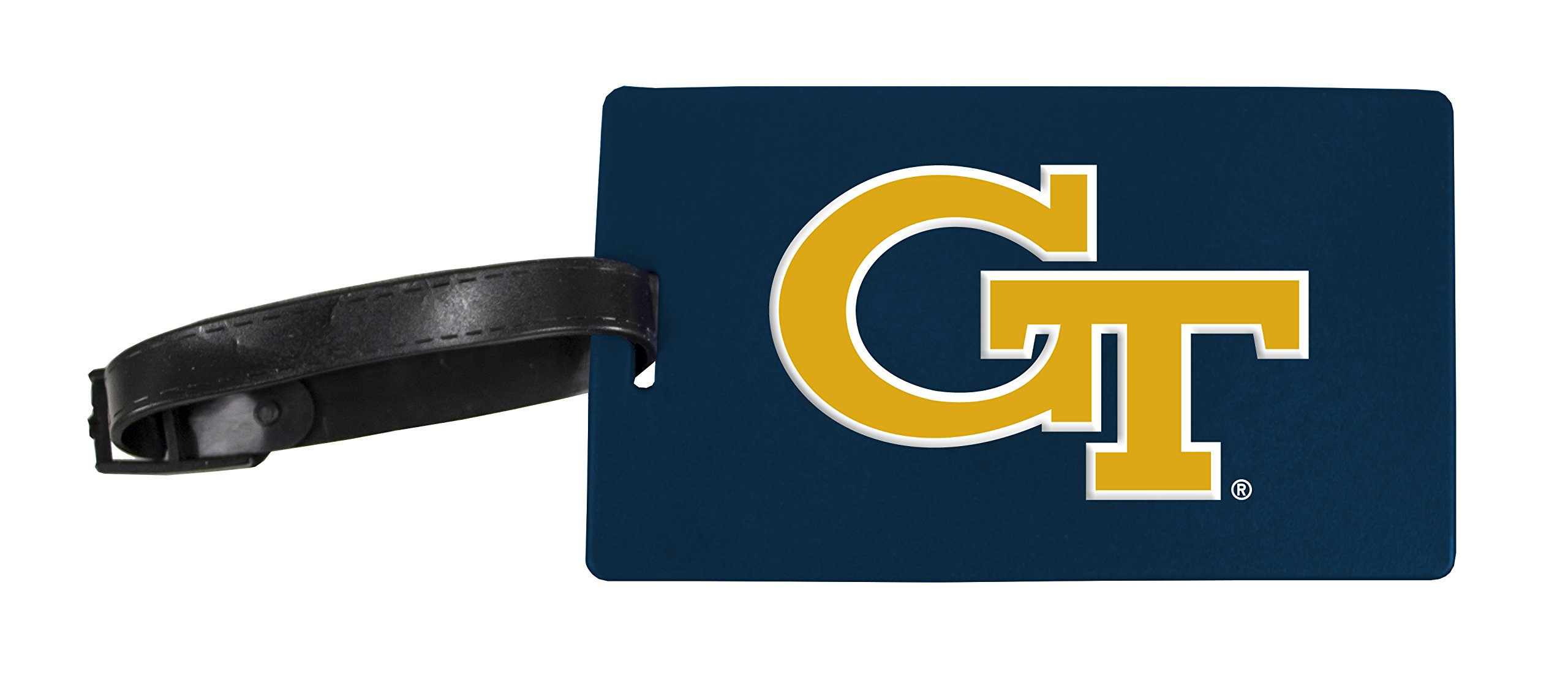 Georgia Tech Yellow Jackets Luggage Tag 2-Pack
