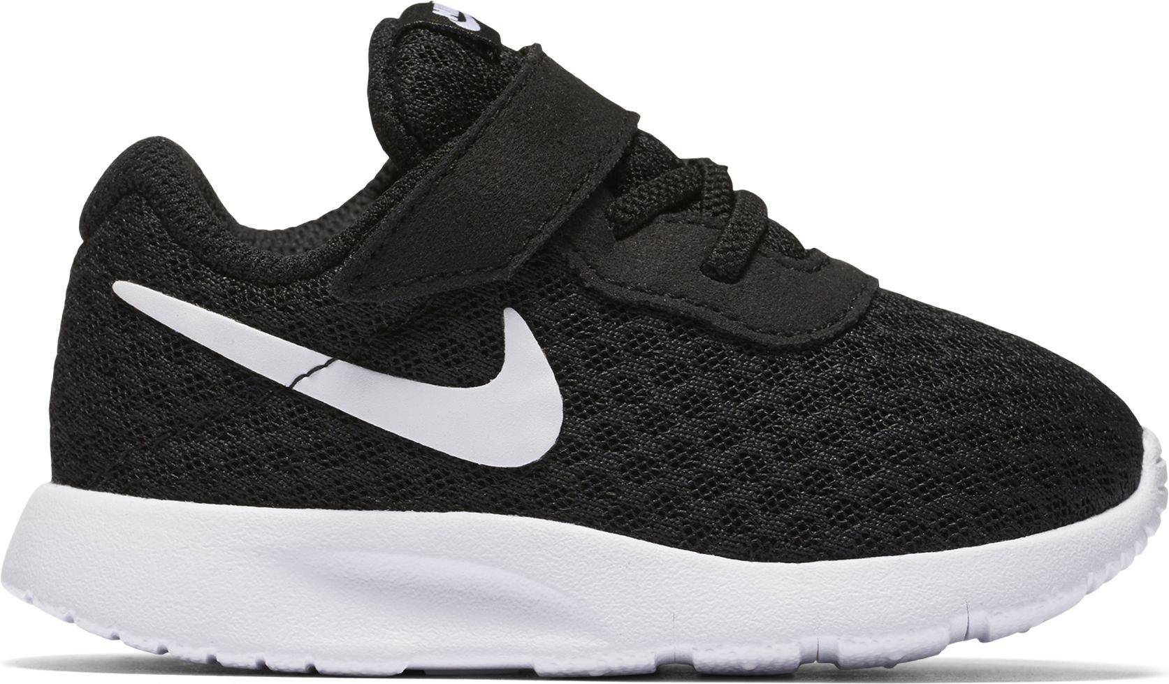 NIKE Boy's Tanjun (TDV) Running Shoes (10 M US Toddler, Black/White-White) by Nike