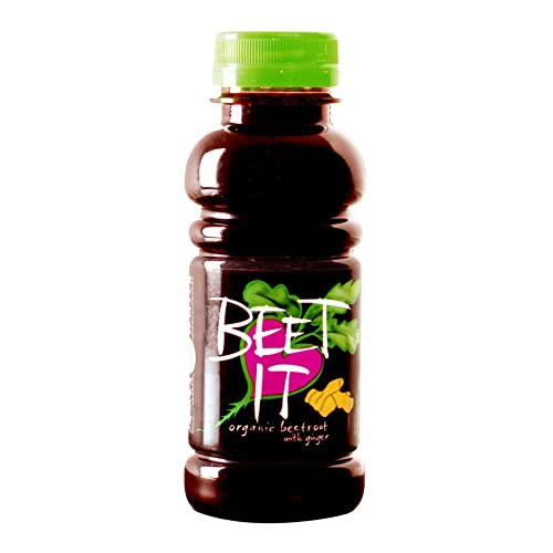 Beet IT with Ginger Plastic PET bottle 250ml pack of 12 (Organic)