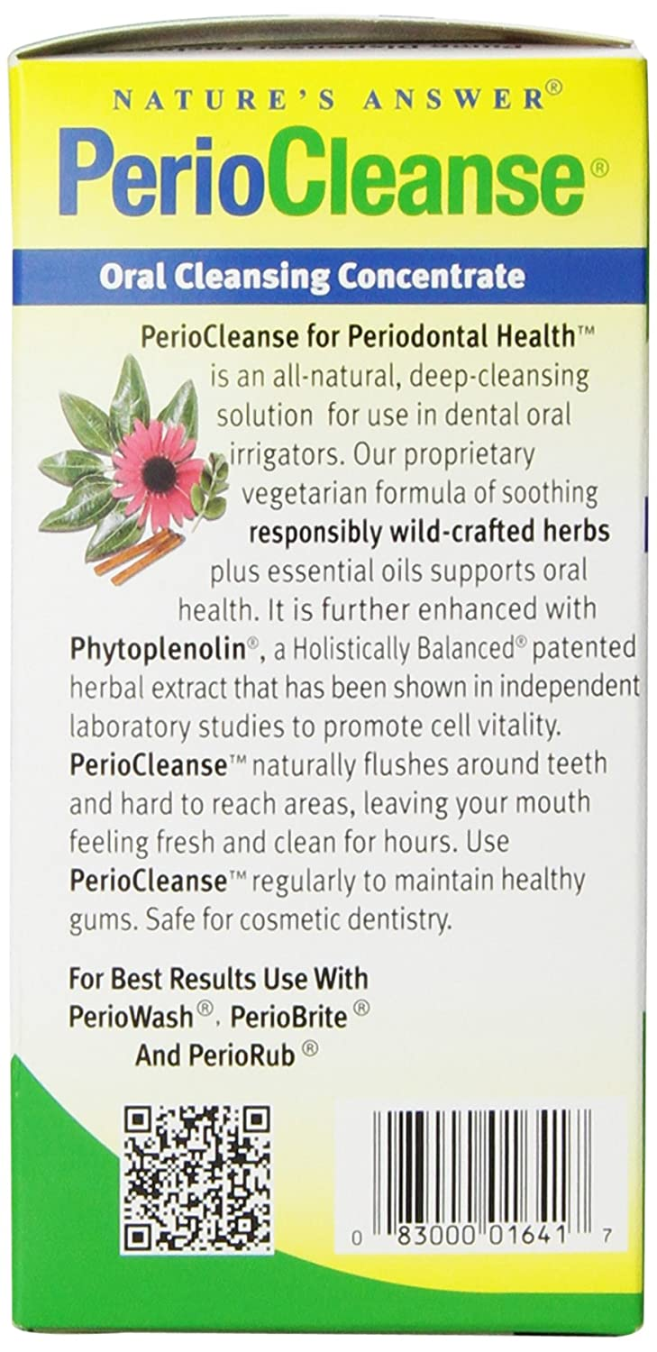 Amazon Natures Answer Periocleanse Oral Cleansing Concentrate