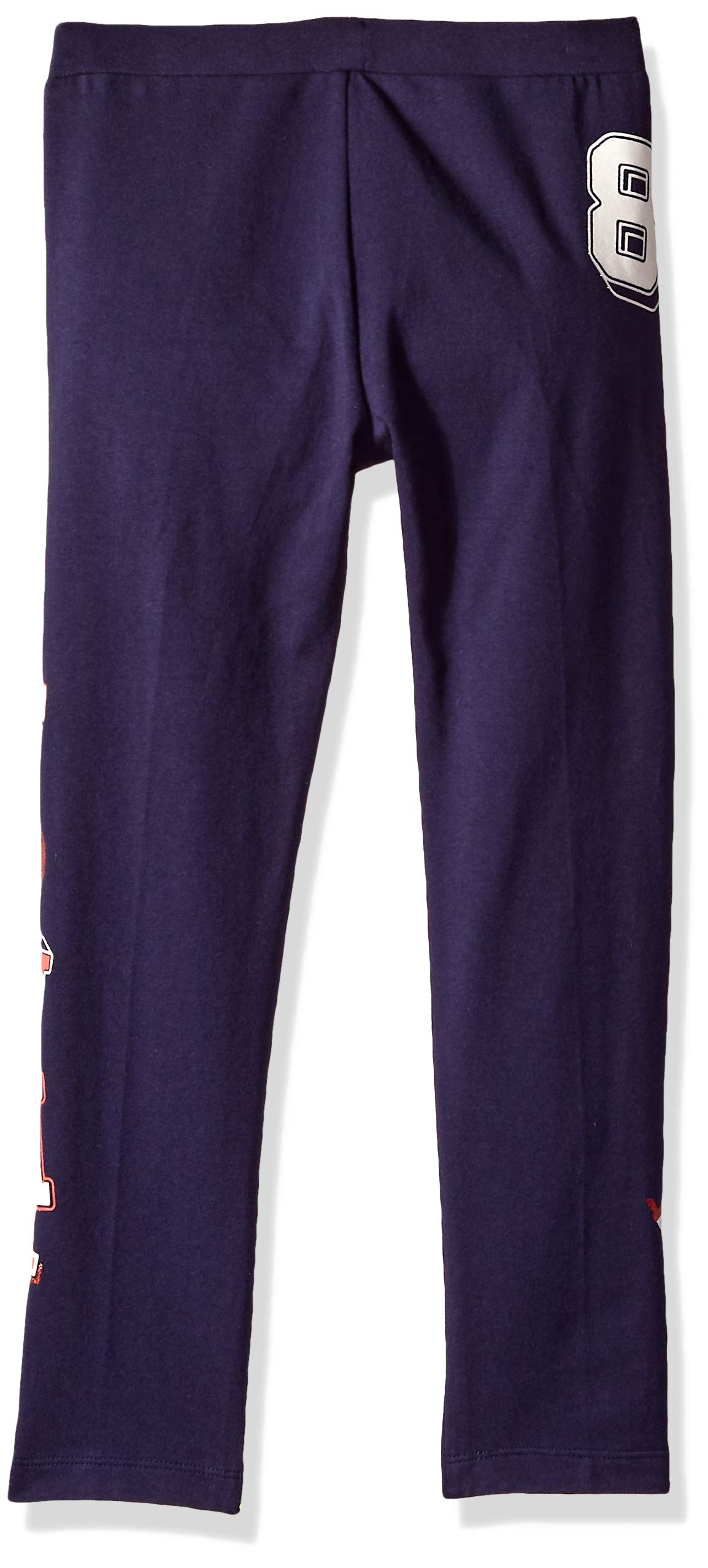 Tommy Hilfiger Girls' Adaptive Leggings with Elastic Waist, evening blue X-Small by Tommy Hilfiger (Image #2)