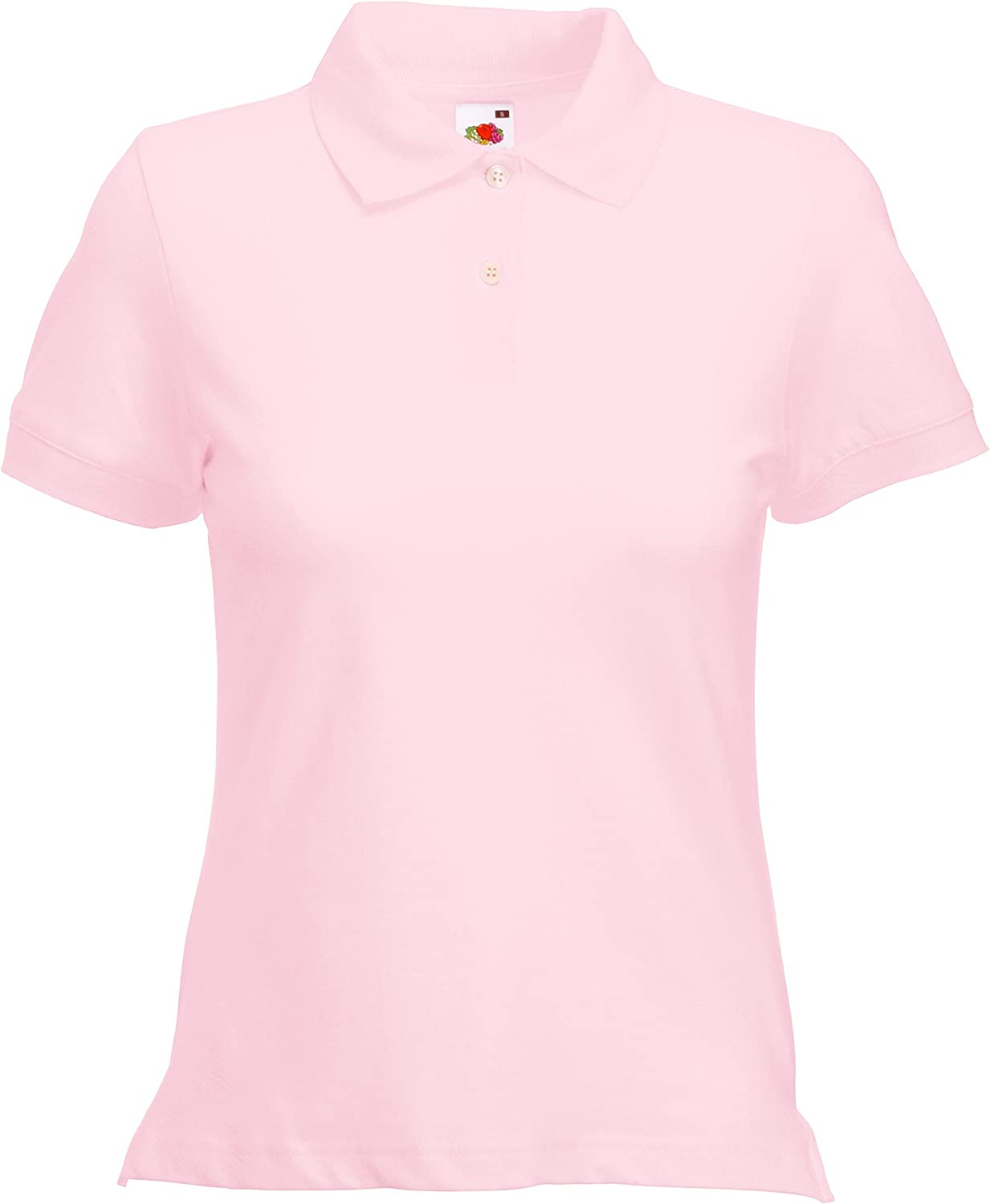 Fruit of the Loom- Polo de Manga Corta Ajustado para Mujer: Amazon ...