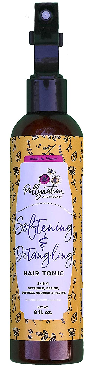 Pollynation Apothecary Softening & Detangling Hair Tonic, 8oz.