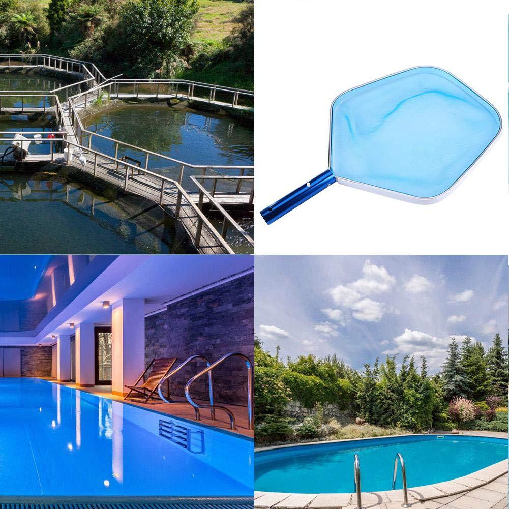 VGEBY Skimmer Cleaning Net Professional Leaf Rake Mesh Frame Net Swimming Cleaner Pool Spa Tool