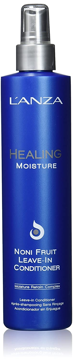 aad10c441 L'ANZA Healing Moisture Noni Fruit Leave In Conditioner, 250 ml:  Amazon.co.uk: Luxury Beauty
